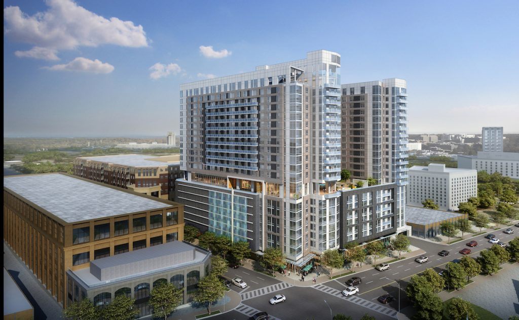 Modera Buckhead Peachtree & Pharr Elevation HighDef
