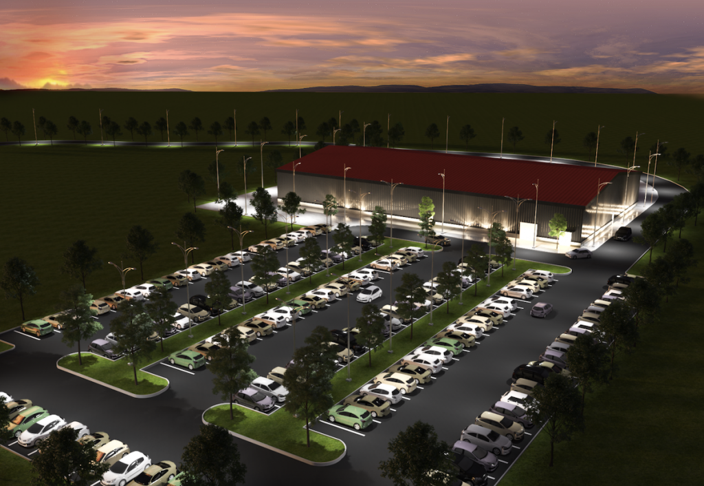 South Fulton Sports Center Rendering