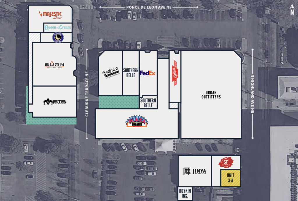 The Plaza on Ponce - Site Plan Dec. 2018