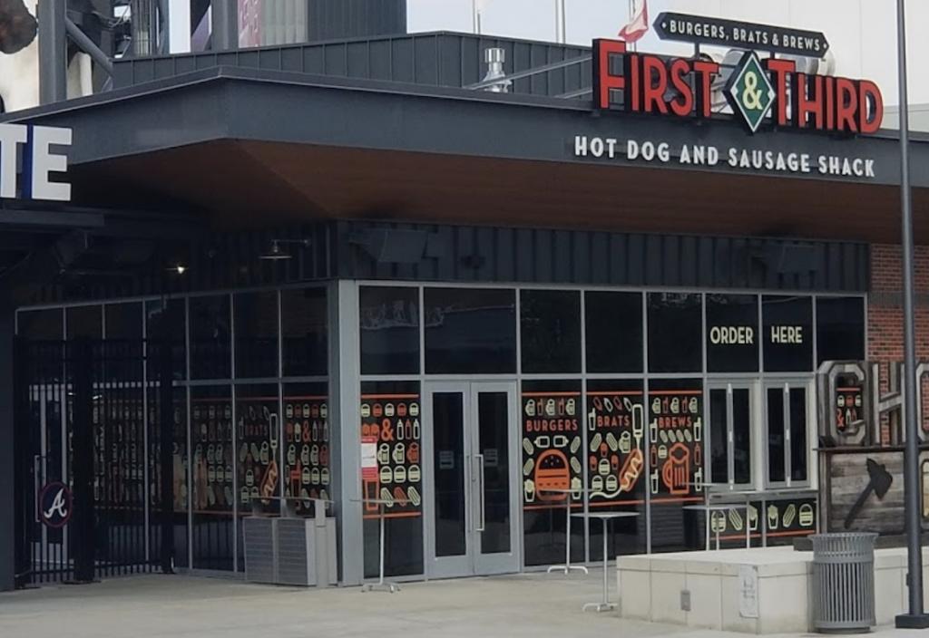 H&F Burger - First & Third - SunStrust Park