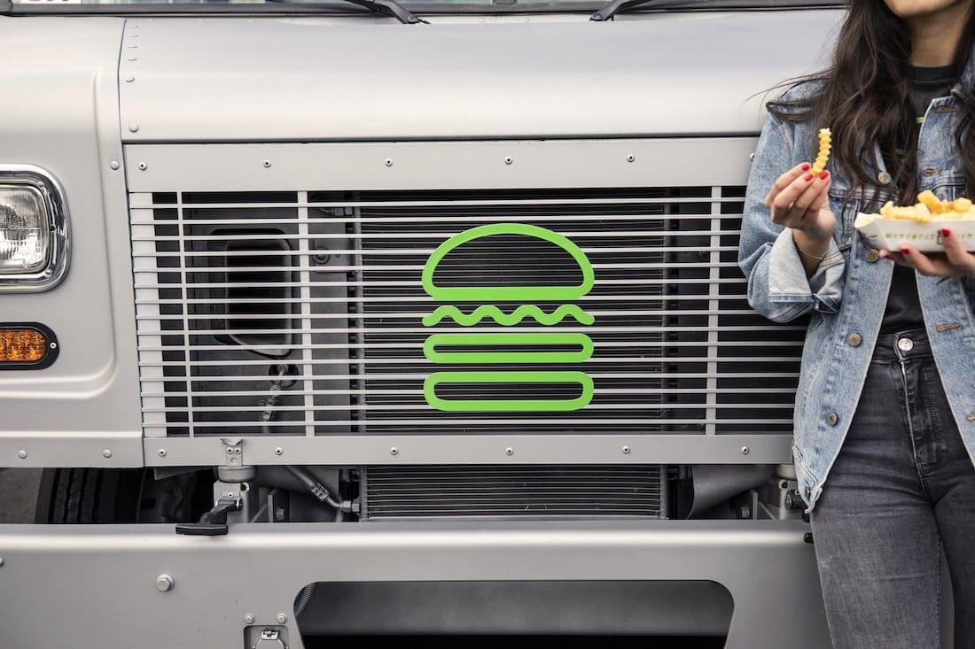 Image result for shake shack food truck
