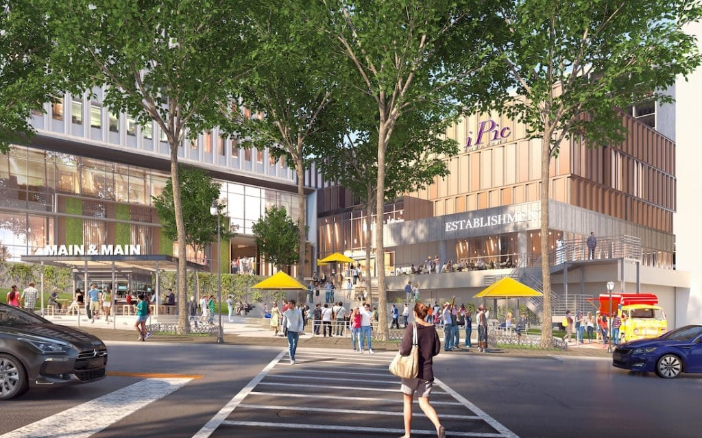 iPic Theater Colony Square Rendering