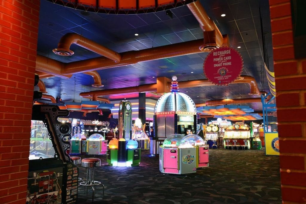 Dave and Buster's Duluth - Closed