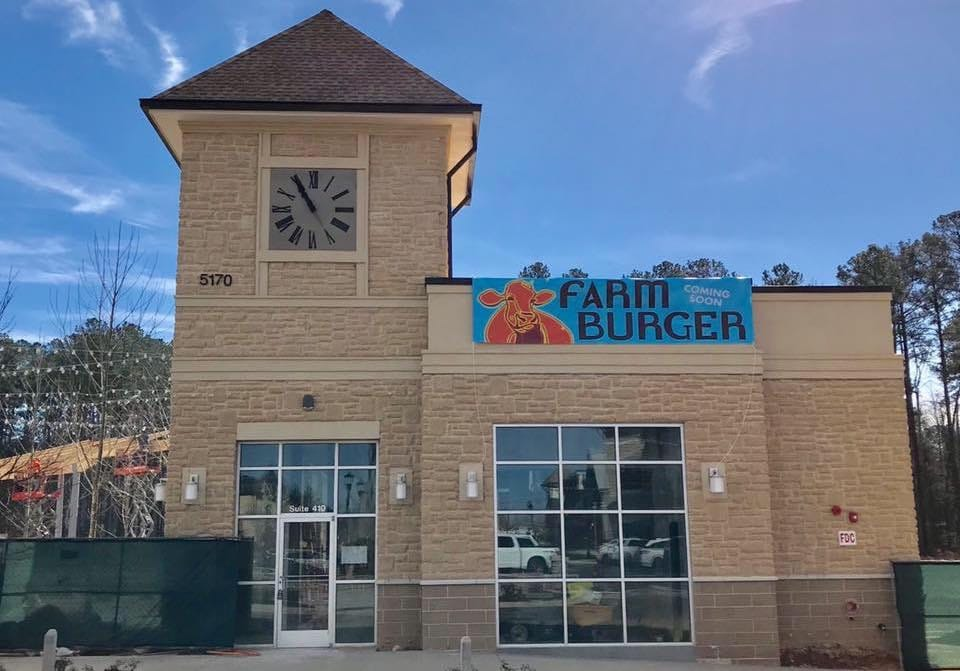 Farm Burger - Peachtree Corners Town Center