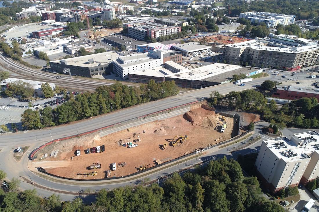 Seven88 West Midtown Construction Update Oct. 2018