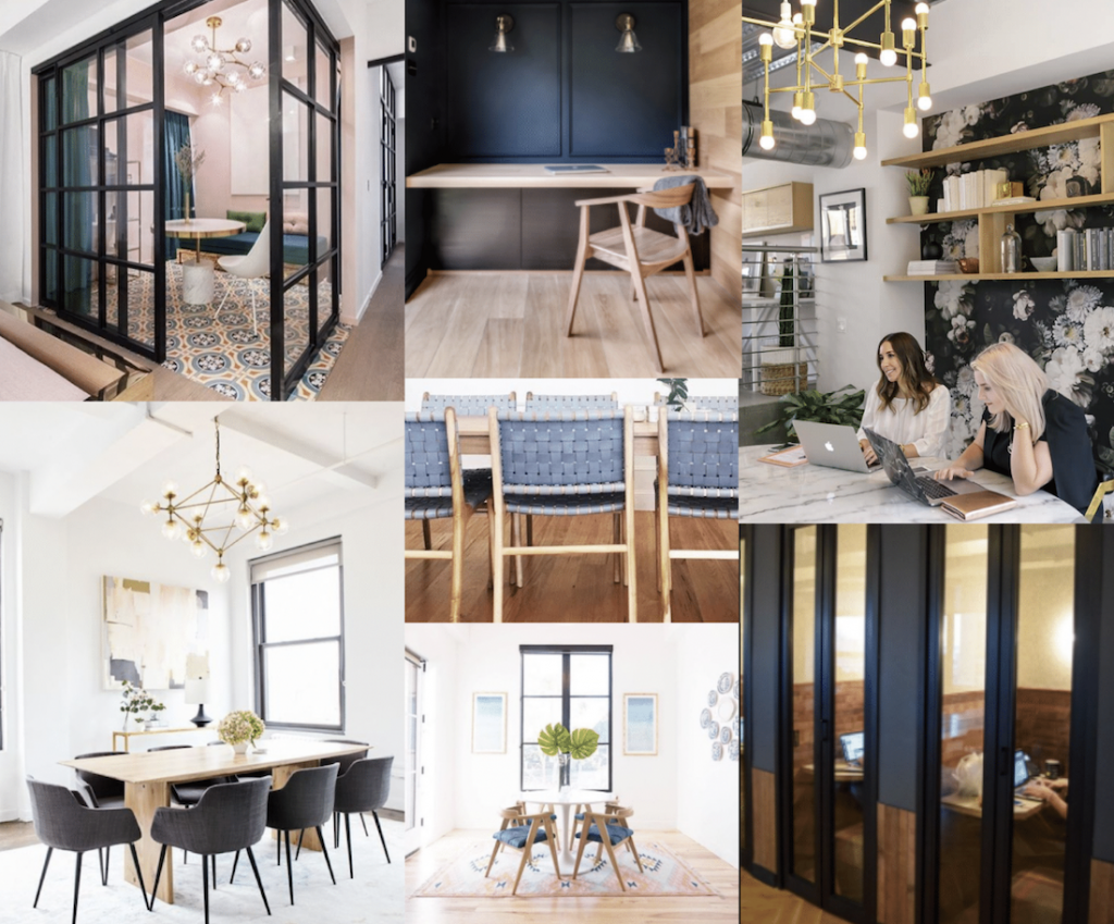 The Lola - Southern Dairies - Workspaces Mood Board