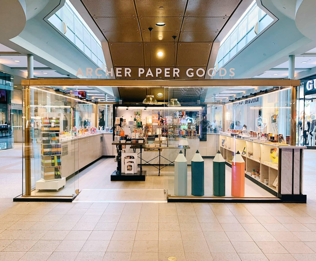 Archer Paper Goods Lenox Square Mall