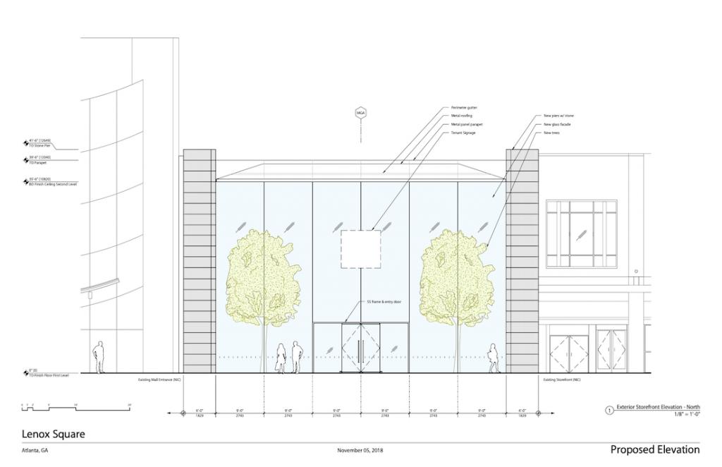Apple Lenox Square Drawing 2
