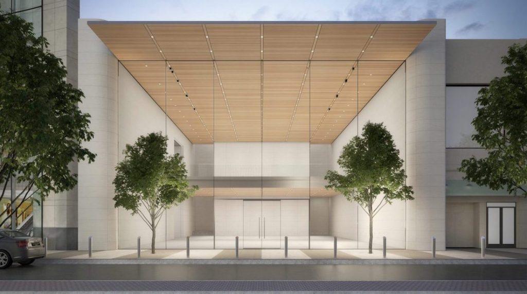 Apple Lenox Square Rendering 1