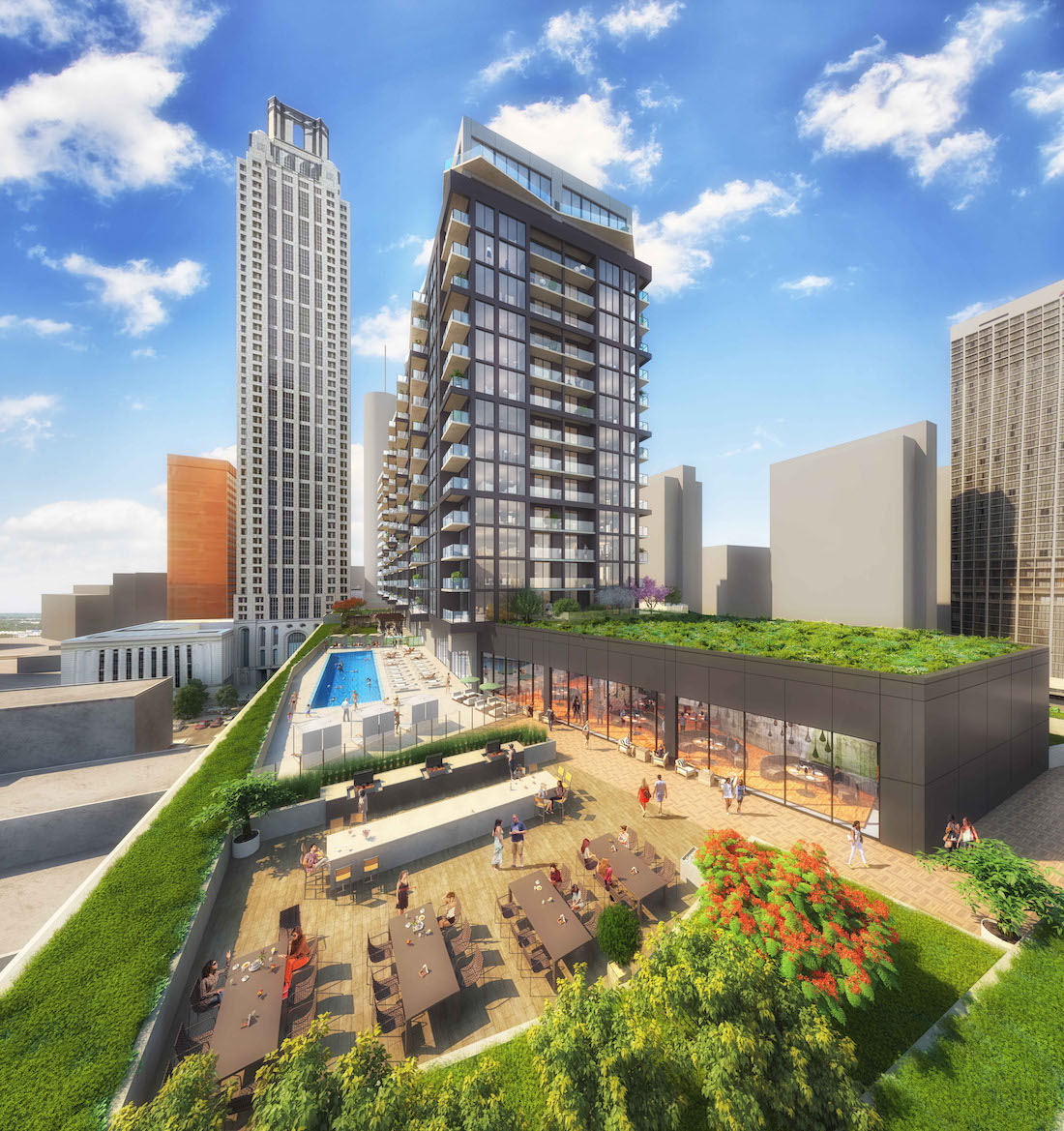 Apartments In Atlanta Metro Area: [Renderings] $125 MM Ascent Peachtree Residential Tower