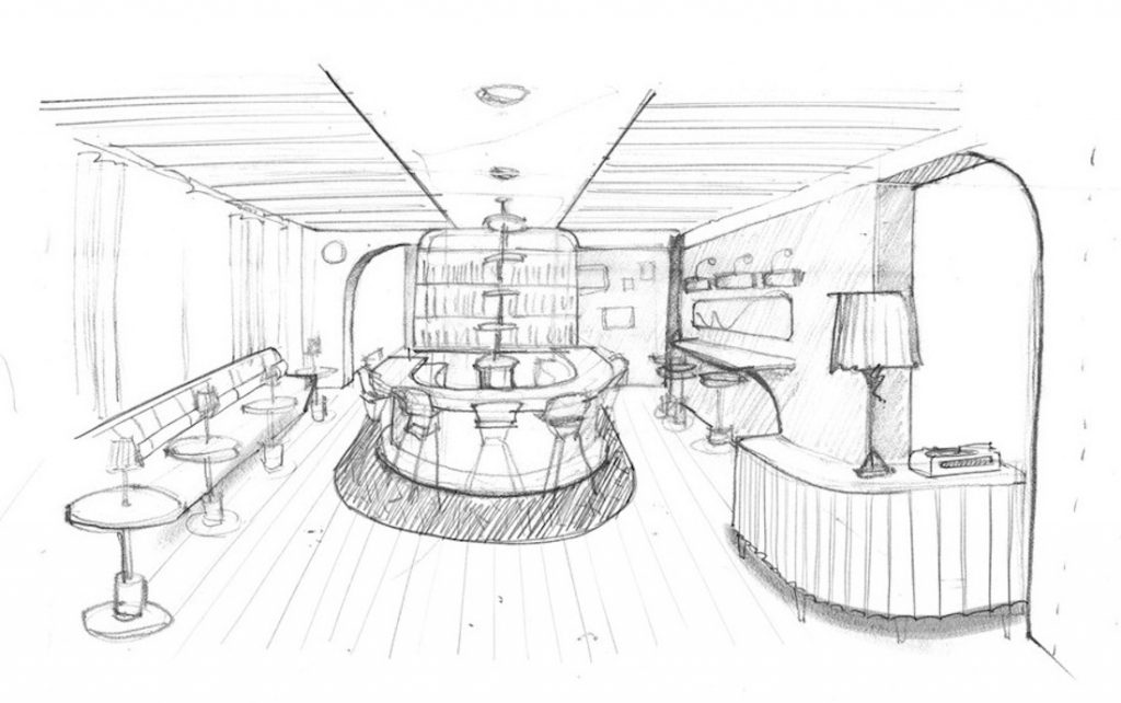 LYLA LILA SMITH HANES BAR RENDERING
