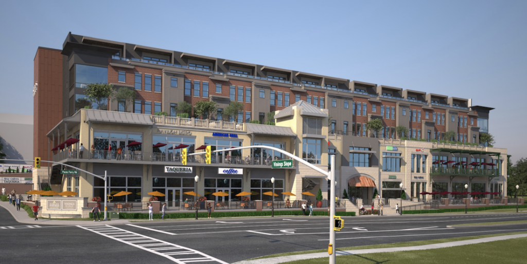 Shops at Vinings Ridge Rendering