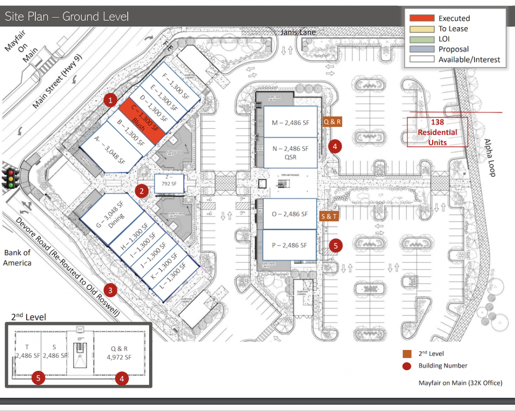 The Maxwell Site Plan 1