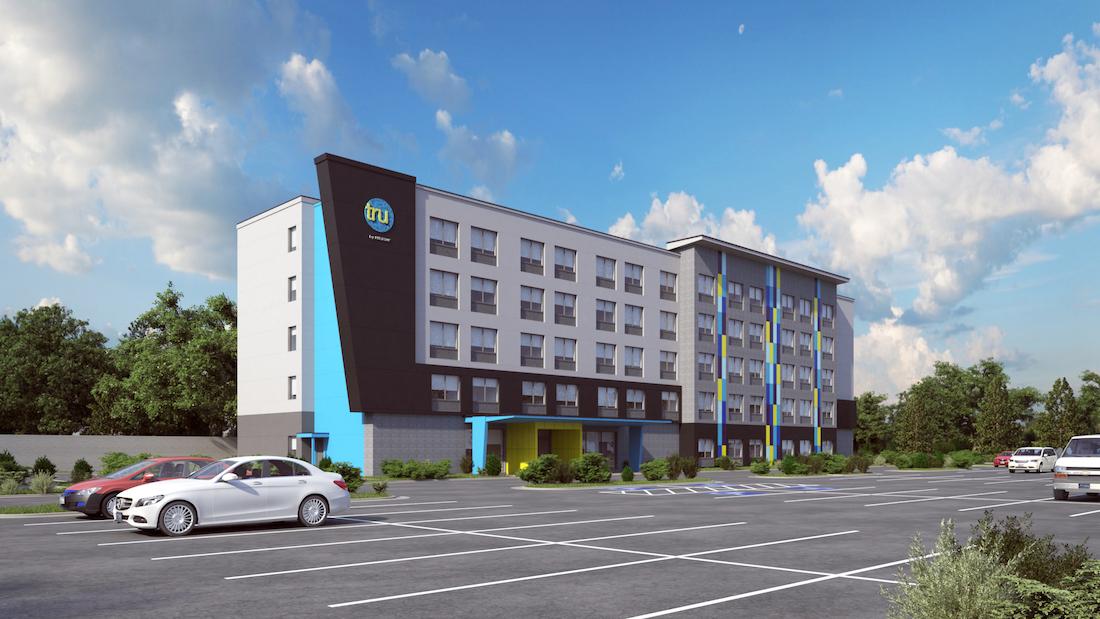 Renderings] Tru By Hilton Planned in SunTrust Park 'Overlay