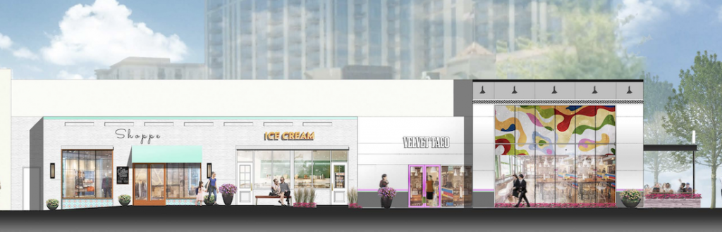 Whole Foods Market and Buckhead Market Place Shopping Center Renovation