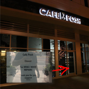 Cafe Posh - Hanover Buckhead Village - Temporarily Closed