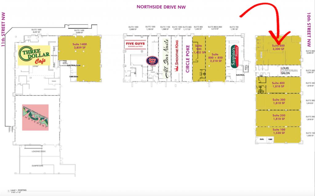 Dos Amigos Bar and Grill - Arium Westside Site Plan