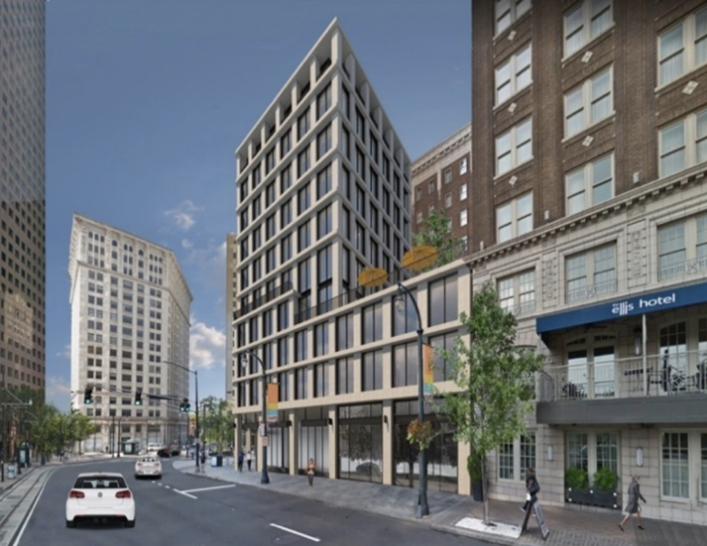 Ellis Hotel - Peachtree Center Transit Station Redevelopment