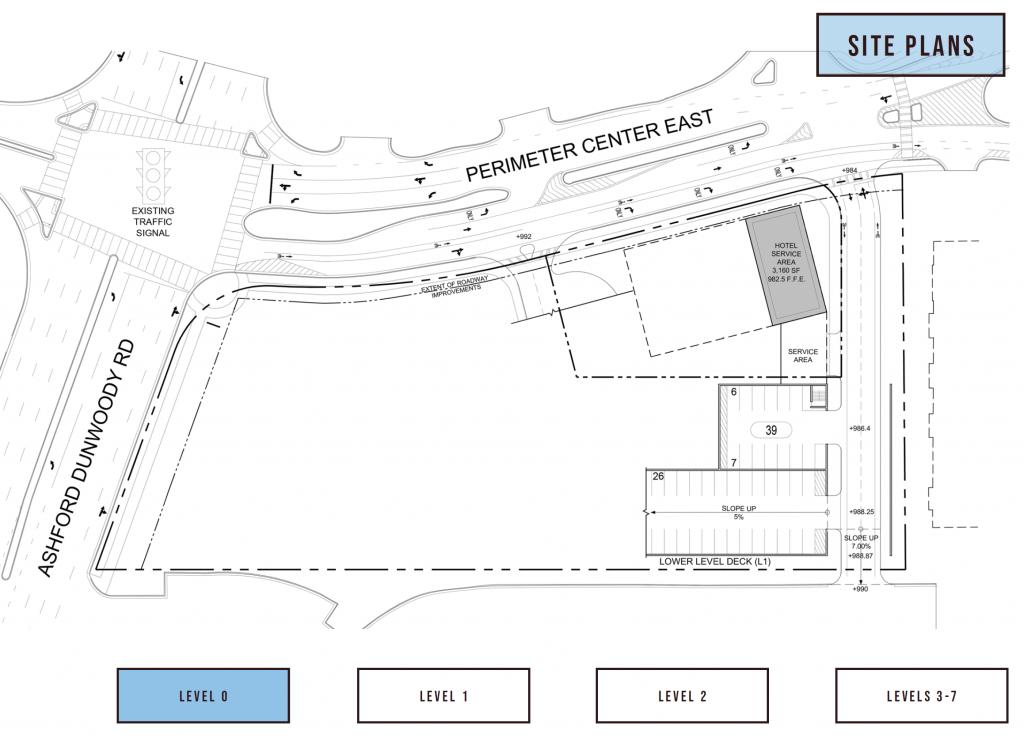 84 Perimeter Center East Hilton Level 0