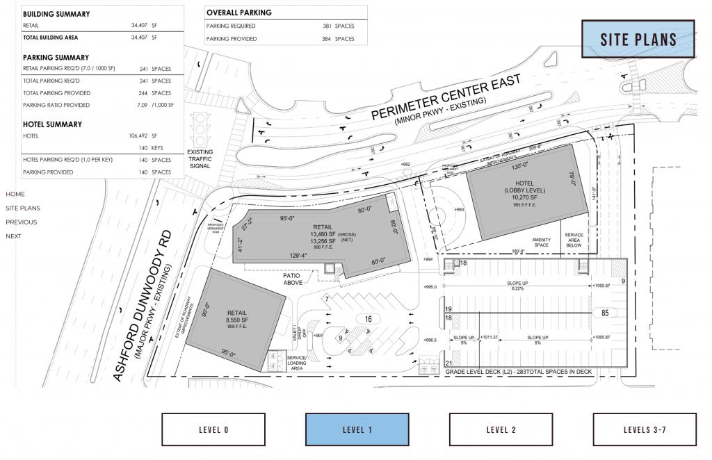 84 Perimeter Center East Hilton Level 1