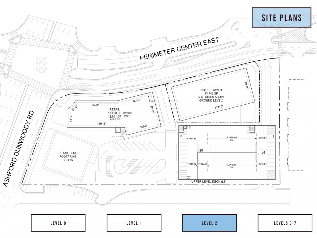 84 Perimeter Center East Hilton Level 2