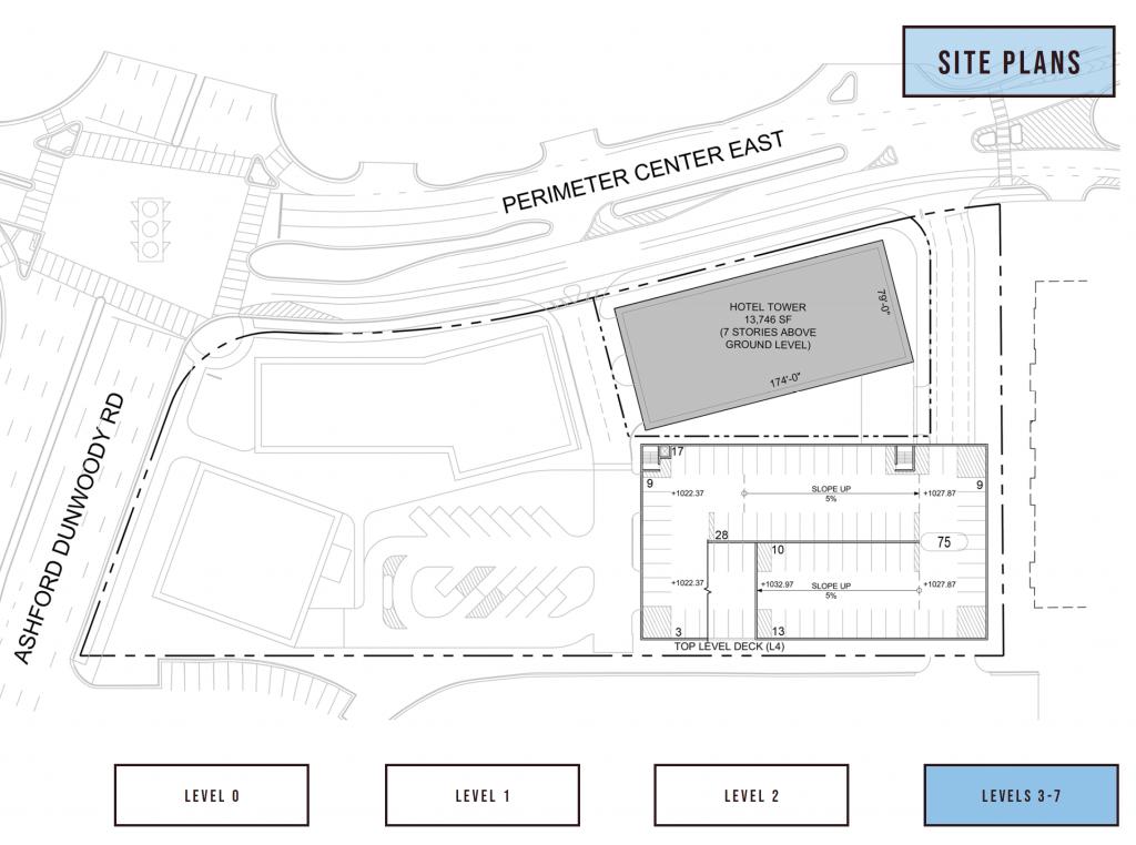 84 Perimeter Center East Hilton Level 3-7