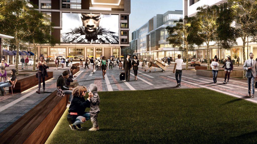 West End Atlanta Rendering