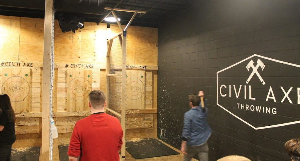 Civil Axe Throwing - The Beacon Atlanta