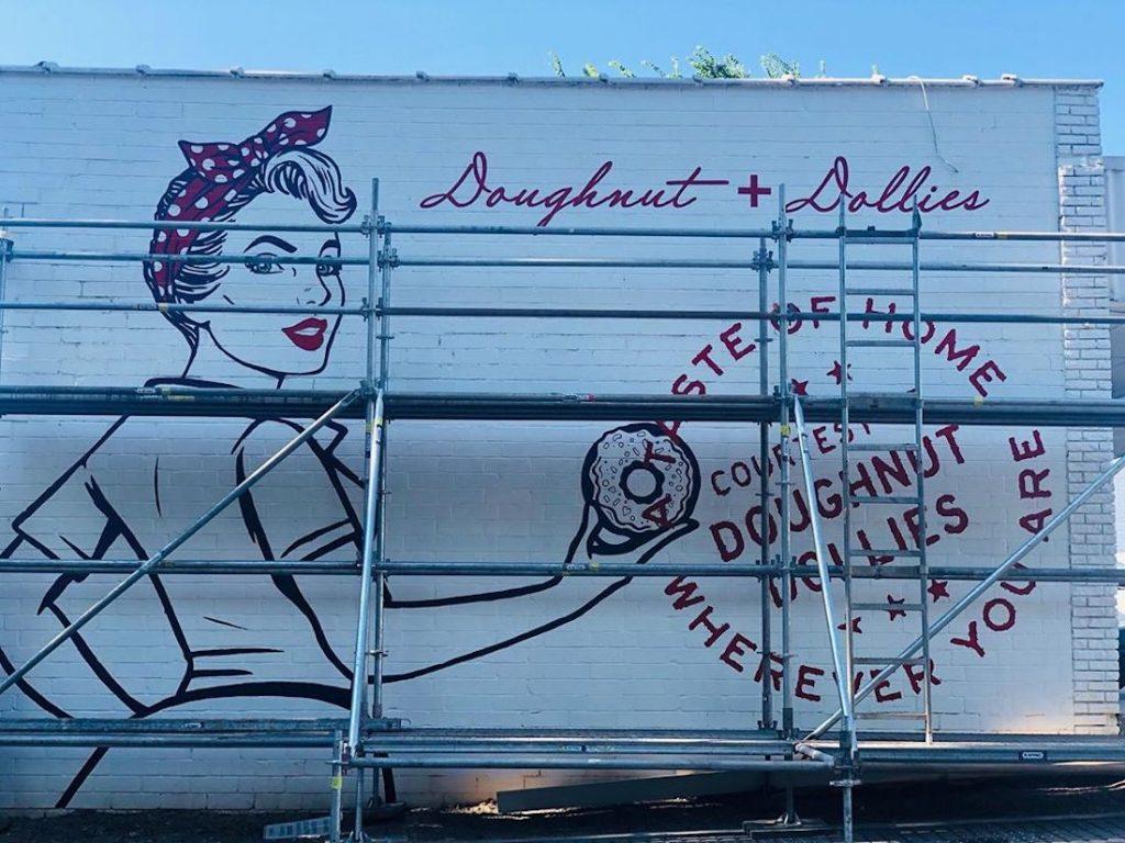 Doughnut Dollies _ Buckhead Murals